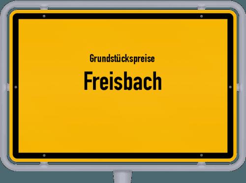 Grundstückspreise Freisbach 2019