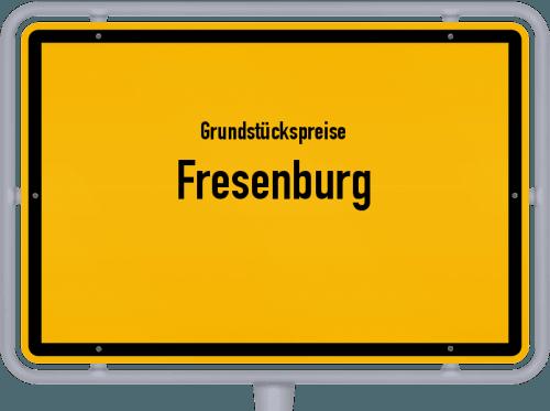 Grundstückspreise Fresenburg 2021