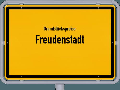 Grundstückspreise Freudenstadt 2021
