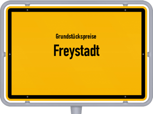 Grundstückspreise Freystadt 2019