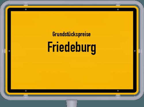 Grundstückspreise Friedeburg 2019