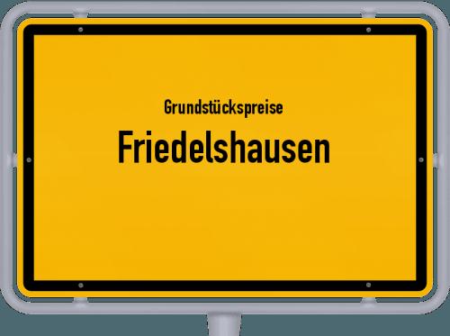 Grundstückspreise Friedelshausen 2019