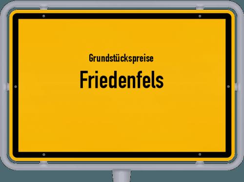 Grundstückspreise Friedenfels 2019