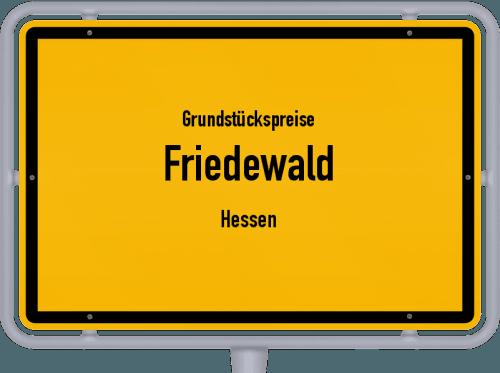 Grundstückspreise Friedewald (Hessen) 2020
