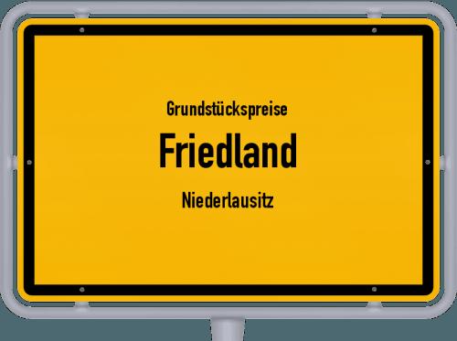 Grundstückspreise Friedland (Niederlausitz) 2021