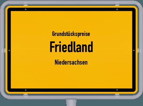 Grundstückspreise Friedland (Niedersachsen) 2021