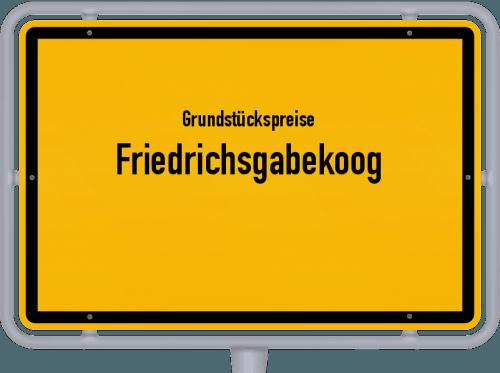 Grundstückspreise Friedrichsgabekoog 2021