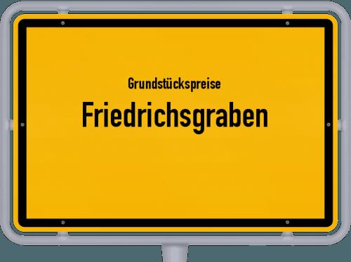 Grundstückspreise Friedrichsgraben 2021