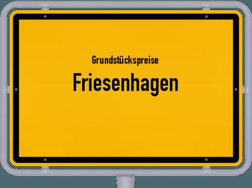 Grundstückspreise Friesenhagen 2019