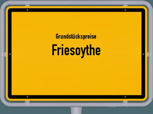 Grundstückspreise Friesoythe 2021