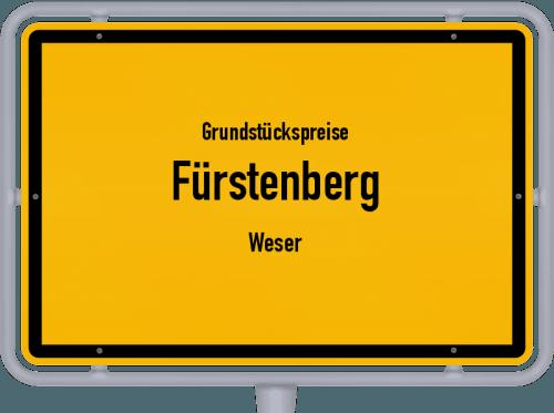 Grundstückspreise Fürstenberg (Weser) 2019
