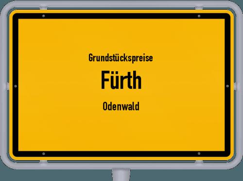 Grundstückspreise Fürth (Odenwald) 2020