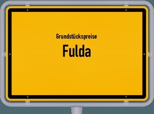 Grundstückspreise Fulda 2018