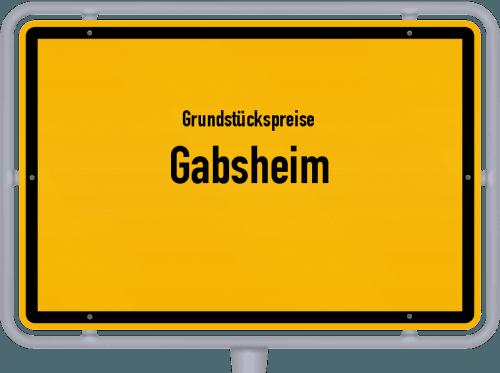 Grundstückspreise Gabsheim 2019
