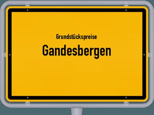Grundstückspreise Gandesbergen 2019