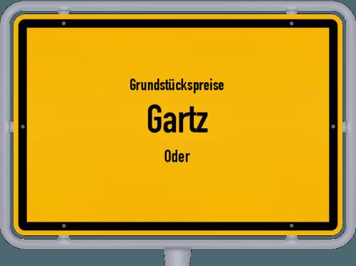 Grundstückspreise Gartz (Oder) 2021