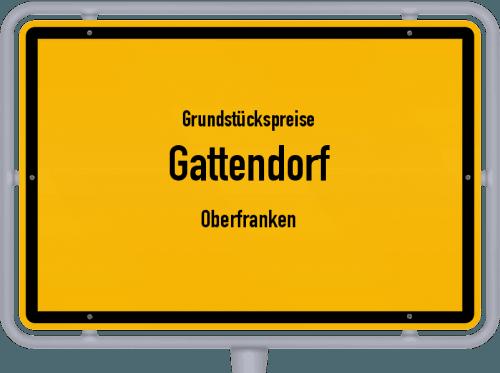 Grundstückspreise Gattendorf (Oberfranken) 2021