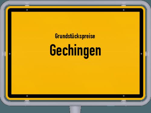 Grundstückspreise Gechingen 2018