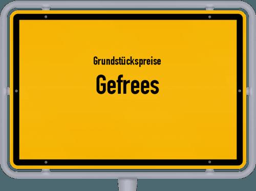Grundstückspreise Gefrees 2019