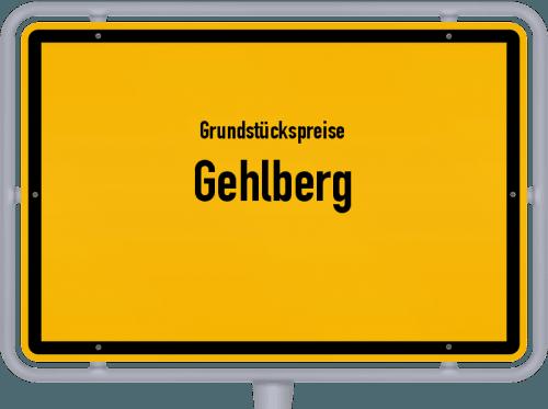 Grundstückspreise Gehlberg 2019