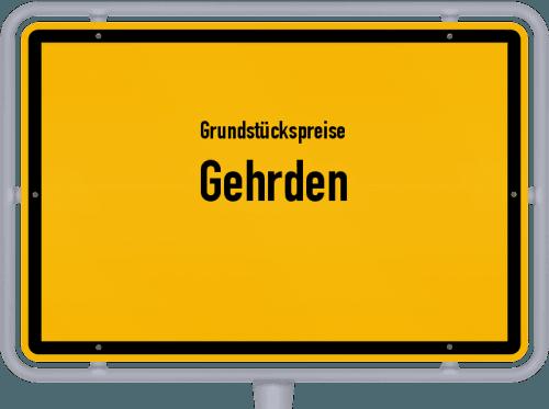 Grundstückspreise Gehrden 2019