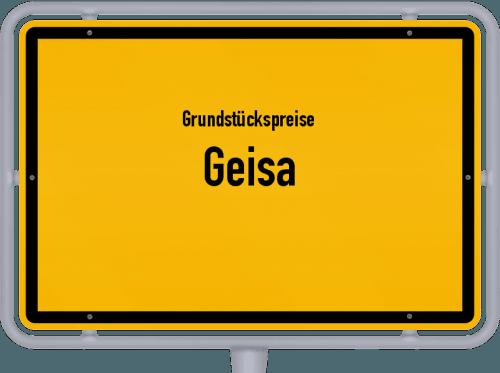 Grundstückspreise Geisa 2019