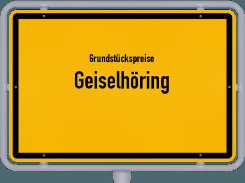 Grundstückspreise Geiselhöring 2019