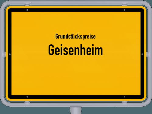Grundstückspreise Geisenheim 2019