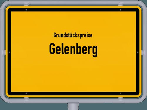 Grundstückspreise Gelenberg 2019