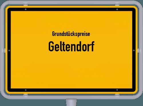 Grundstückspreise Geltendorf 2019