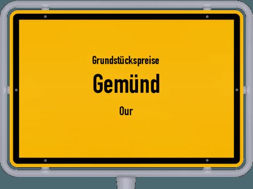 Grundstückspreise Gemünd (Our) 2019