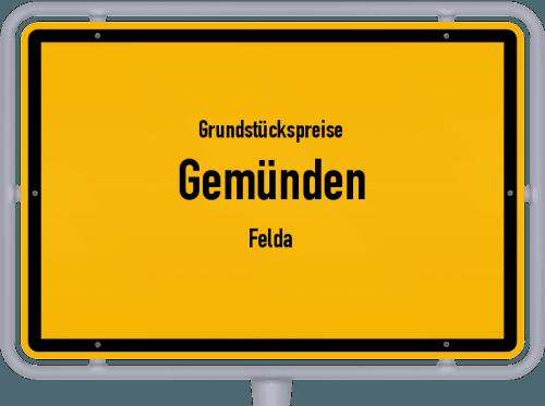 Grundstückspreise Gemünden (Felda) 2018
