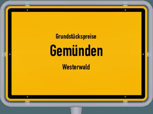 Grundstückspreise Gemünden (Westerwald) 2019