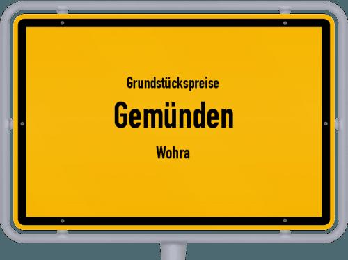 Grundstückspreise Gemünden (Wohra) 2019