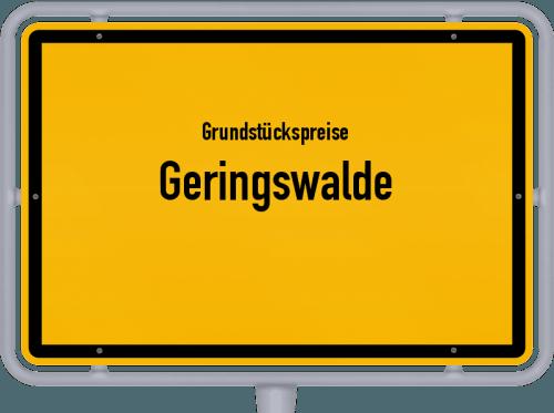 Grundstückspreise Geringswalde 2019
