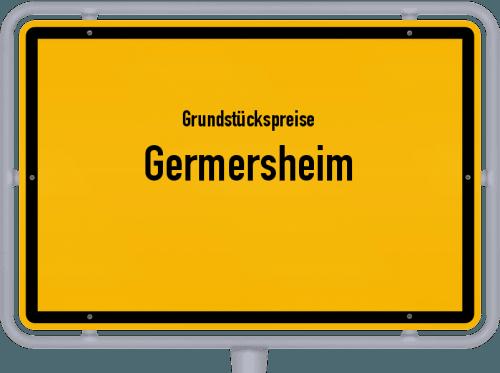 Grundstückspreise Germersheim 2019