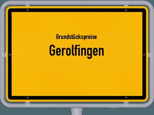 Grundstückspreise Gerolfingen 2019