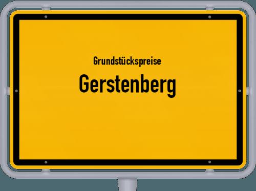 Grundstückspreise Gerstenberg 2019