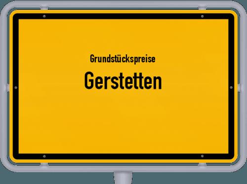 Grundstückspreise Gerstetten 2021