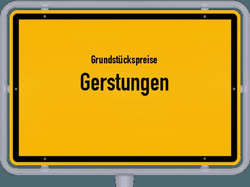 Grundstückspreise Gerstungen 2019