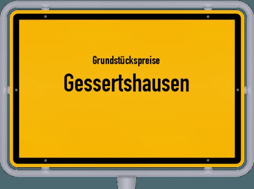 Grundstückspreise Gessertshausen 2021