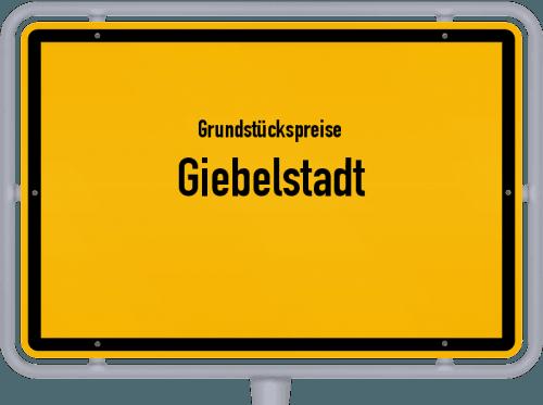 Grundstückspreise Giebelstadt 2019