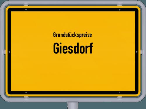 Grundstückspreise Giesdorf 2019
