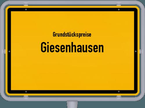 Grundstückspreise Giesenhausen 2019