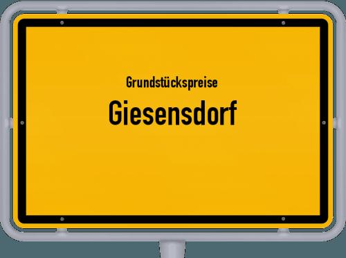 Grundstückspreise Giesensdorf 2021