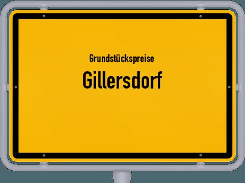 Grundstückspreise Gillersdorf 2019