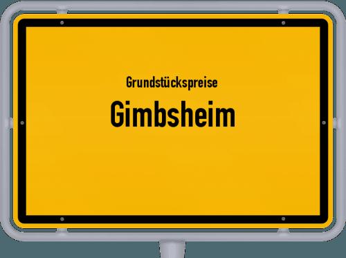 Grundstückspreise Gimbsheim 2019