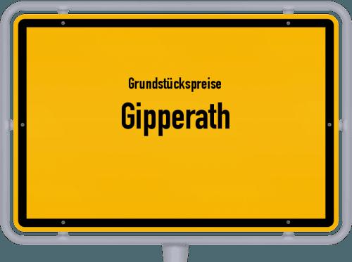 Grundstückspreise Gipperath 2019