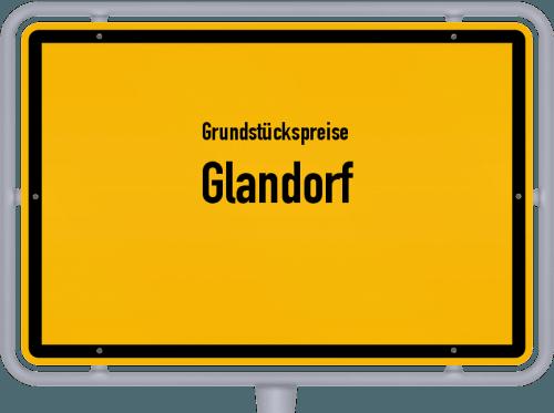 Grundstückspreise Glandorf 2021