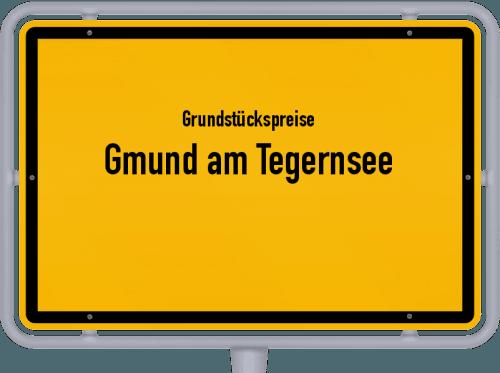 Grundstückspreise Gmund am Tegernsee 2019